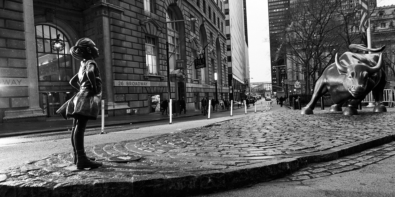 Fearless Girl – International Women's Day